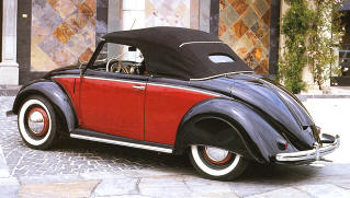 1949-50 Volkswagen Beetle Hebmuller Covertible