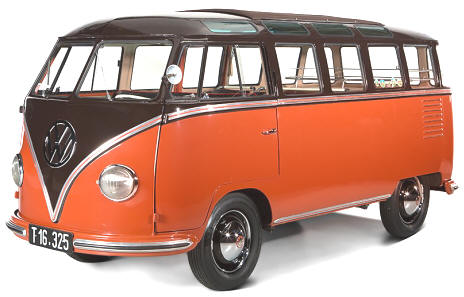 1955 Volkwagen T1 Splitty Bus