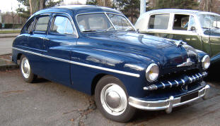1949 - 1952 Ford Vedette