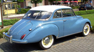 1957 - 1959  DKW F93 Coupe