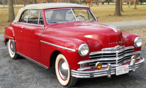 1949 Plymouth Convertible Club Coupe