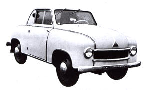 1951 - 1952 Lloyd LC300 Coupe