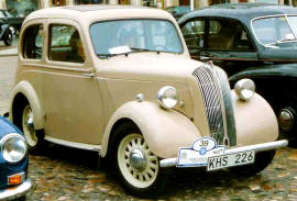 1939 - 1948 Standard Flying Eight