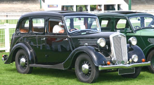 1937 - 1939 Wolseley 12/48 Saloon Series III