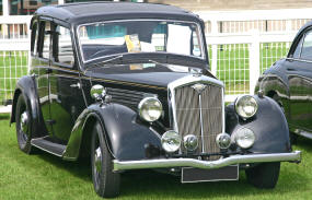 1936 - 1938 Wolseley 14/56 Series II