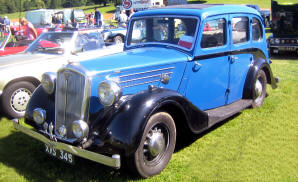 1937 - 1939 Wolseley Super Six Series III