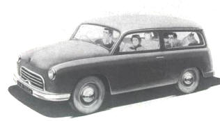 1953 Rosengart 4CV Break
